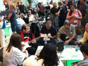 Blogger's Cafe at ISTE