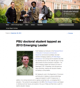 A screenshot of the article.